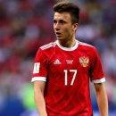 월드컵 라이징 스타를 노리는 알렉산드르 골로빈(러시아)