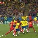브라질 벨기에 하이라이트