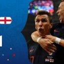 [월드컵] '만주키치 결승골' 크로아티아, 잉글랜드에 2-1 역전승… 사상 첫 결승행
