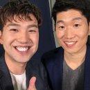 김선근 아나운서, '영원한 캡틴' 박지성과 다정하게 '찰칵'…'훈훈함 가득'
