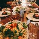 하루한끼 채식_시금치 쿠스쿠스 샐러드