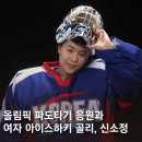 [평창동계올림픽] 여자 아이스하키 신소정, 파도타기 응원 - 이세연/변호영의 단상