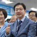 출구조사 결과와 다른 경남도지사 개표상황 김경수 vs 김태호.'1%미만 초접전...