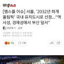 2032년 하계 올림픽 유치지 선정 서울로 선정
