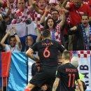 만주키치 극적 역전 결승골 크로아티아 사상 첫 월드컵 결승행