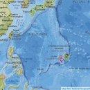 괌지진 2월13일/괌 근처 해상에서 지진 발생