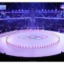 평창동계올림픽 선수단 입장
