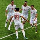 이번 대회들어 단 한번도 국가를 부르지 않은 스페인 선수들