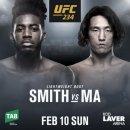 UFC234 중계 강경호 테루토 마동현 스미스