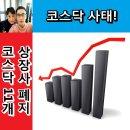 코스닥 11개 상장사 상장 폐지, 코스닥 사태!