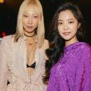 '보랏빛 여신' 손나은, 뉴욕서 열린 브랜드 컬렉션 한국 대표 참가
