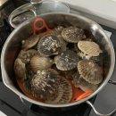 제철밥상 : 거제 바다에서 키운 생물 홍가리비로 맛있는 저녁 한상!!! 삼삼해물