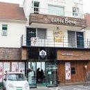 여수 만성리 검은모래해변 해수욕장 카페 '카페베네'