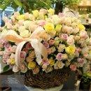 내발산동꽃배달] 1주년선물로 꽃<b>배달</b>된 <b>365</b>송이꽃바구니