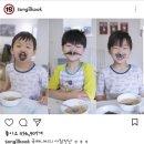 삼둥이 근황 & 삼둥이 예전 광고 영상 캡쳐