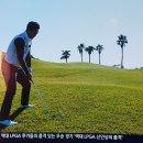 JTBC골프 경사면에서의 스윙