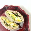 +피타빵 활용법+ 통밀빵 샌드위치/민수블라키/다이어트 식단. 100%통밀빵 황금똥빵