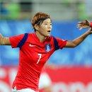 여자 축구 국가대표 전가을 vs 이영주 프리킥 대결