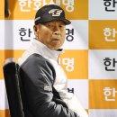 김성근 감독의 한숨
