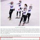 [ISU 공식] 평창 쇼트트랙 여자 3000M 계주 중국 캐나다 실격 이유(사진 추가)