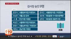 윤석열 유임·검사장 9명 승진..검찰, 전열 재정비 인사