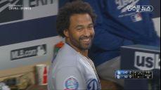 우드야 마음껏 던져' 맷 캠프 투런 홈런으로 득점 지원!