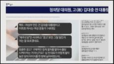 김겨울 정의당 의원 이미 뒤진 대중이를 어디서 찾노 SNS 발언 논란