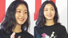 김고은, 미세먼지 날리는 청정 미소 ('유니클로' 포토월)