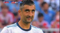 [우루과이 VS 러시아] 허무하게 프리킥 기회 놓친 사메도프 SBS 2018 FIFA 러시아 월드컵 75회