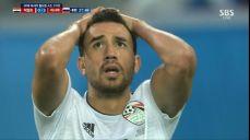 [러시아 VS 이집트] 트레제게 원터치 슈팅! 이타적인 살라 SBS 2018 FIFA 러시아 월드컵 59회