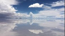 볼리비아의 우유니 소금사막