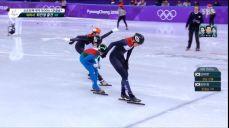 쇼트트랙 1500m - 거칠게 펼쳐진 레이스, 결승 진출하는 아리아나 폰타나 2018 평창 동계올림픽대회 43회