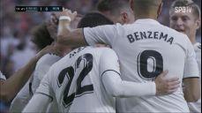 레알은 레알' 로페테기 감독에게 리그 첫 득점을 안기는 카르바할의 선제골!