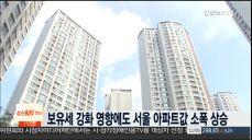 보유세 강화 영향에도 서울 아파트값 소폭 상승