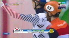 [쇼트트랙 월드컵 4차] 남자 1500m 이정수 금메달! ISU 국제빙상대회 36회