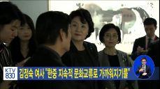 김정숙 여사