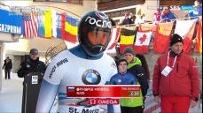 [월드컵 7차] 스켈레톤 2차시기 - 첫 출전에 좋은 기록 보여준 마르첸코프 IBSF 월드컵 (봅슬레이, 스켈레톤) 47회