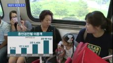 [경기] 하루 이용객 3만 명..시민들의 발로 자리 잡은 용인경전철